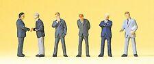 Preiser 75032 Spur TT, Geschäftsleute, 6 Figuren, handbemalt, Neu