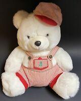 Jingle Bear JB Vintage Teddy Bear Plush Emporium Capwell Train Conductor Used