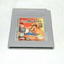 Disney's Aladdin Nintendo Game Boy Game Original Cart Tested