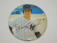 "VINTAGE 3"" BUCKY DENT NEW YORK YANKEES BASEBALL PLAYER  PINBACK  BUTTON"