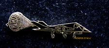F-117 NIGHTHAWK DRAG CHUTE PARACHUTE LANDING STEALTH HAT LAPEL PIN US AIR FORCE