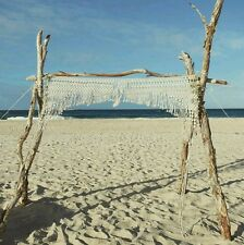For Hire: Macrame Wedding Alter/Arbour Arch **subject To Availability**