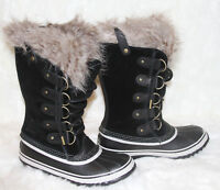 NEW! SOREL Joan of Arctic Faux Fur Cold Weather Waterproof Snow Winter Boots 9.5