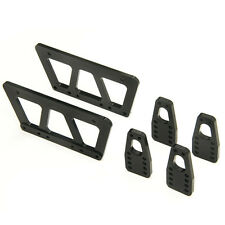 Black Alloy Chassis Lift Plate Set Kit for RC 1/10 Axial SCX10 Model Car Truck