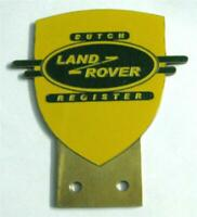 Car Badge-Land Rover Owners Club Car grill badge emblem logos metal enamled badg