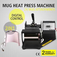 Termopressa Pressa A Caldo Trasferimento 2in1 Calore Pressa Pressione Tazza Mug