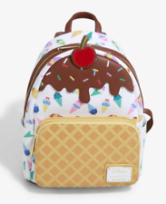 Disney Loungefly Disney Princess Ice Cream Cone Mini Backpack NWT