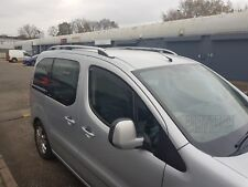 FIAT FIORINO CITROEN NEMO PEUGEOT BIPPER on 2008 ALUMINIUM ROOF RAIL BARS GREY