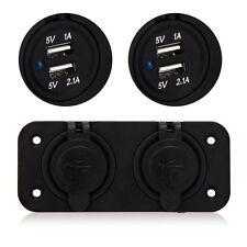 DC12-24V 4 USB Port Car Cigarette Lighter Socket Splitter Power Adapter Charger