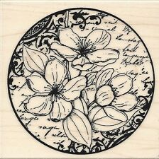 """""""Flower Poetry"""" Rubber Stamp by Penny Black"""