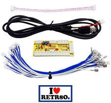 Zero Delay Arcade USB 1 player Encoder PC to joystick Ipac Interfaz Raspberry Pi