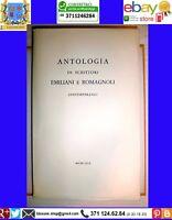ANTOLOGIA DI SCRITTORI EMILIANI E ROMAGNOLI CONTEMPORANEI, TALLONE Editore