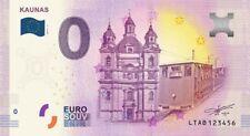 Billet Touristique 0 Euro - Lituanie, Kaunas - 2018-1