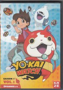 Coffrets 9 DVD Yo-Kai Watch Saison 1 Vol. 1.2.3 Episodes 1-26