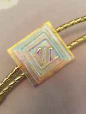 Dicroic Sliding Bolo Beautiful Gina Poppe handcrafted