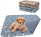 2 Pack Washable Pee Pads For Dogs Puppy Pads Dog Training Pad Waterproof Reusabl