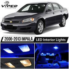 2006-2013 Chevy Impala Blue LED Interior Lights Package Kit