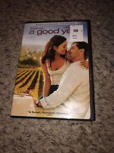 A Good Year (DVD, 2007, Widescreen)