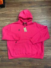 Nike ACG Pullover Hoodie Pink Black Men's Size XXL 2X BQ3453-697