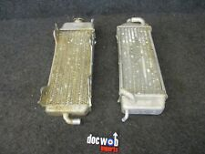 Suzuki RM125 2000 Used genuine oem right + left hand radiator set RM3589