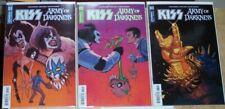 Kiss Army Of Darkness Evil Dead Horror Comic 5 Issue Lot Sam Raimi Gene Simmons