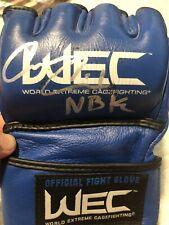 Carlos Condit Signed WEC Glove