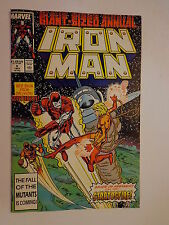 Iron Man Sunturion Stratosfire Layton Volume 1 #9 Marvel Comics Annual 1987 NM