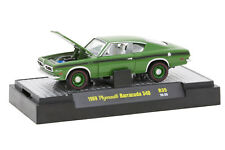 L53 32600 35 M2 DETROIT MUSCLE  1969 PLYMOUTH BARRACUDA 340 GREEN  1:64