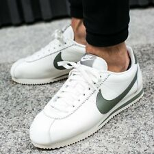 NIKE CLASSIC CORTEZ LEATHER SE Running Trainers Gym Casual UK 12 (EU 47.5) Sail