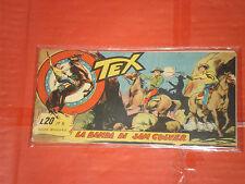 TEX STRISCIA ORIGINALE n° 8 -del 1957-15° SERIE kansas  -no araldo o zagor