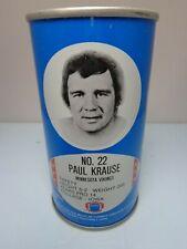 RC COLA  PAUL KRAUSE #22 MINNESOTA VICKINGS FOOTBALL NFL PULL TAB SODA POP CAN