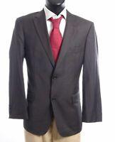 HUGO BOSS Sakko Jacket Paolini Gr.25 grau uni Einreiher 2-Knopf -S658