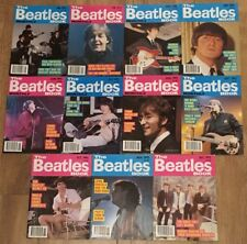 1993 Issues of The Beatles Book Monthly 11 Months Set Magazine Jan-Mar, May-Dec