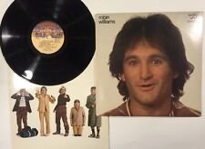 Vintage Robin Williams Reality What A Concept Lp 1979 Casablanca Records
