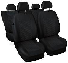 CAR SEAT COVERS full set fit Honda Legend - leatherette Eco leather black