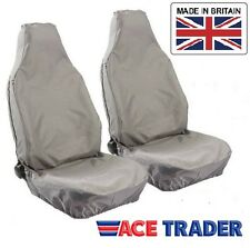 LAND ROVER DISCOVERY 1 (89-98) WATERPROOF FRONT SEAT COVERS GREY 1+1