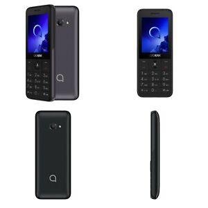 Alcatel 3088 4G Mobile Phones Metallic Black Bluetooth, Camera 3G, 4G Unlocked