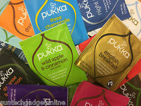 Pukka Herbal Organic Teas Tea Sachets - Random Selection Taster Pack (20 Sachet)