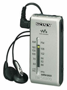 Brand New Sony SRF-S84/S FM/AM Super Compact Radio Walkman Analogue Tuner SRFS84