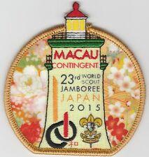 2015 world scout jamboree Japan / MACAU Contingent Official  patch badge