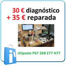 SERVICIO de Diagnostico de PLACA BASE X58 P67 Z68 Z77 Z97 e INTENTO d Reparacion