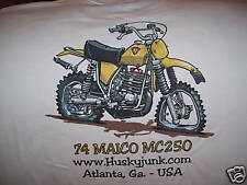 MAICO T-SHIRT HUSQVARNA HONDA YAMAHA SUZUKI OSSA CZ KTM