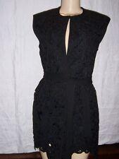 Manoush Ladies Black Dress Jacket Vest   Euro Size 38  New with Tags