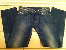 "DIESEL DESIGNER MEN'S BLUE JEANS DENIM PANTS ""LARKEE"" SIZE 31W 32L!!"