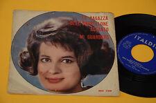 """7"""" 45 ( NO LP ) MINA LA RAGAZZA DELL'OMBRELLONE ACCANTO 1° ST ORIG"""