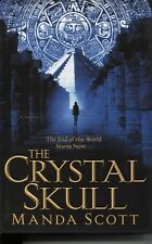 THE CRYSTAL SKULL MANDA SCOTT NEW HARDBACK fiction instock thriller mayans