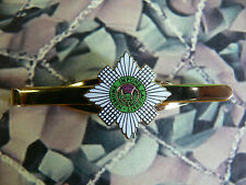 Scots Guards Tie Clip / Bar / Slide (green)