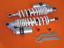 "New 13.50"" Rear Gas shocks for Honda Ct70 ct70h adjusted shocks piggy white"