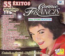 Connie Francis 55 Exitos 3CD New Nuevo sealed BOX SET