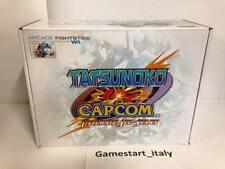 TATSUNOKO VS CAPCOM ARCADE FIGHTING STICK (NINTENDO WII) NUOVO NEW